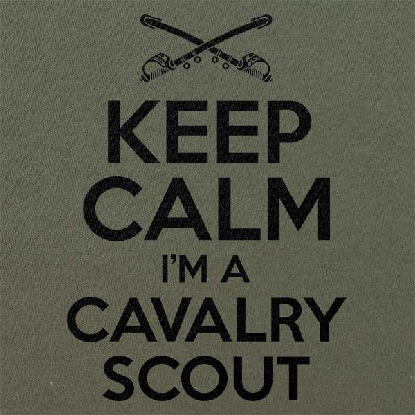 Classic Keep Calm I'm a Cavalry Scout T-Shirt