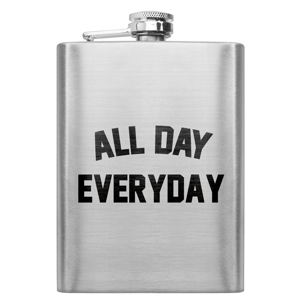 All Day Everyday 8 oz. Flask