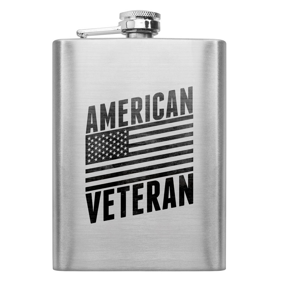 American Veteran 8 oz. Flask