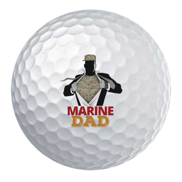 Marine Dad Golf Ball Set
