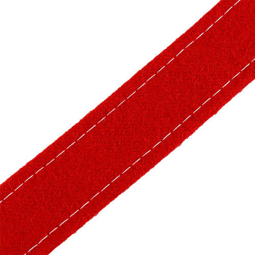 Marine Corps Red Broadcloth Trouser Stripes - Enlisted