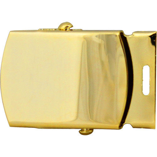 Army Dress Belt Buckle - Gold With Tip - Male