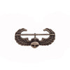 Army Miniature Air Assault Badge - Silver Oxidized