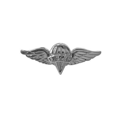 Army Miniature Parachute Rigger Badge - Nickel Finish
