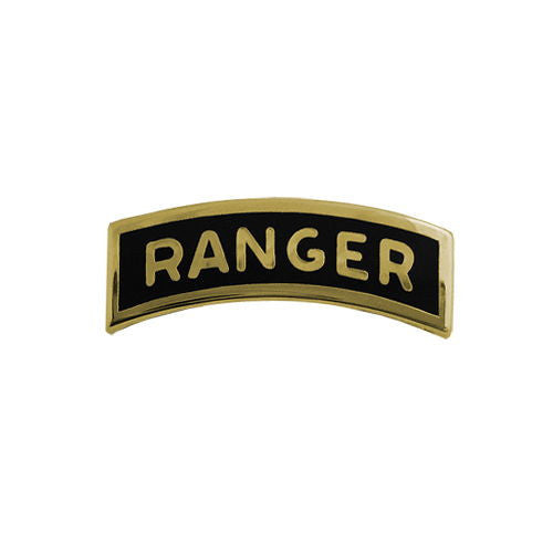 Army Miniature Ranger Tab - Dress Metal