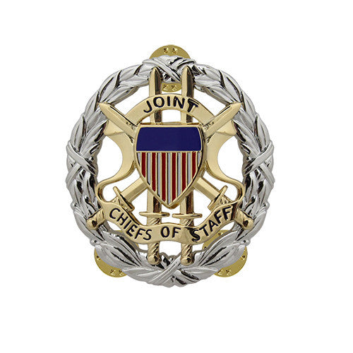 Army Miniature Joint Chiefs of Staff Identification Badge - Nickel Finish
