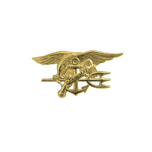 Navy Miniature Special Warfare (SEAL Trident) Insignia