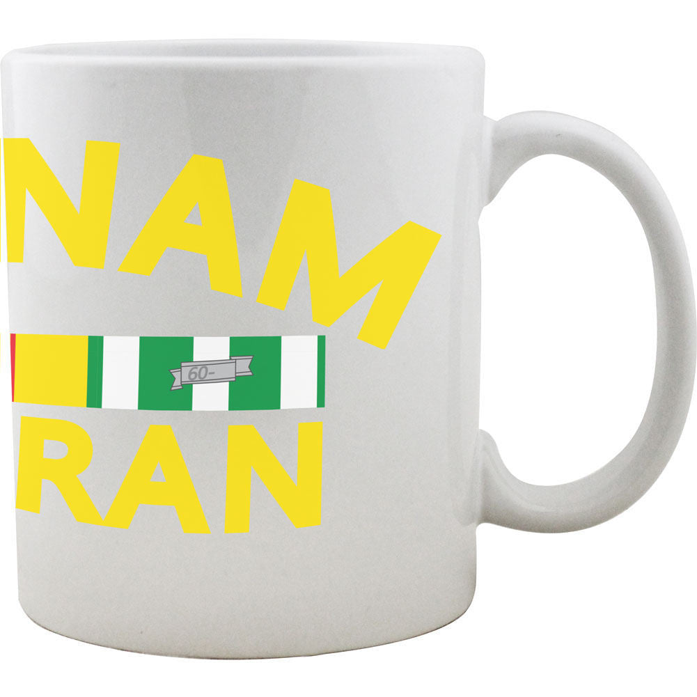 Vietnam Veteran Ribbon Rack Mug