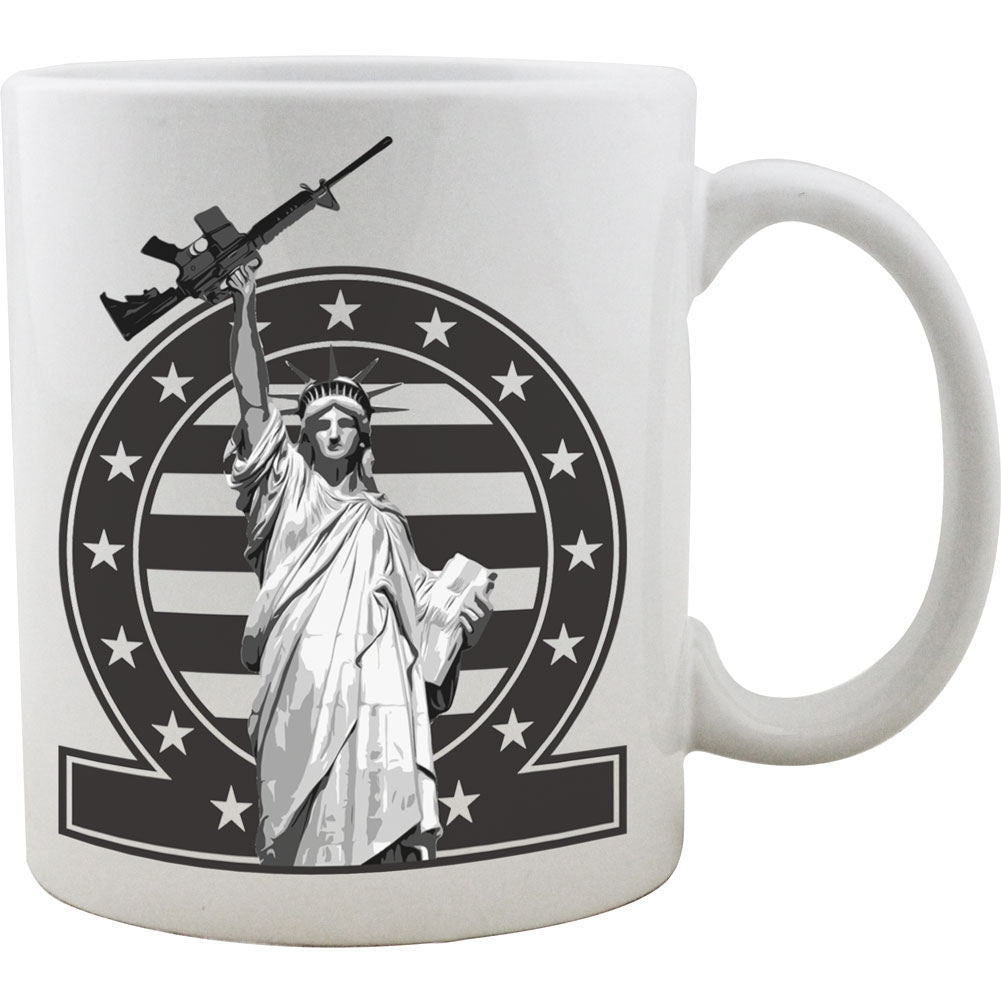 2nd Amendment Statue of Liberty Mug