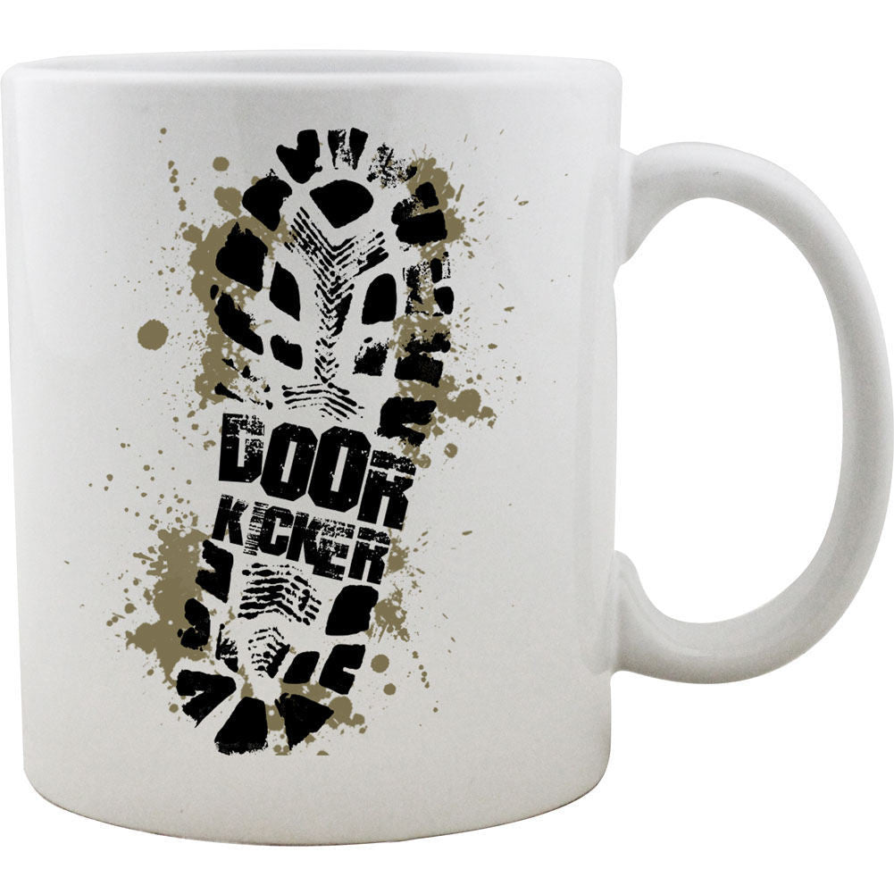 Doorkicker Bootprint Mug