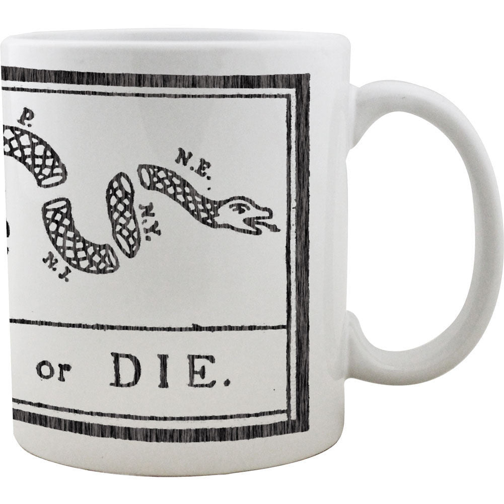 Vintage Join or Die Mug
