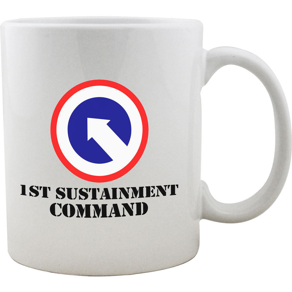 1st Sustainment Command Mug