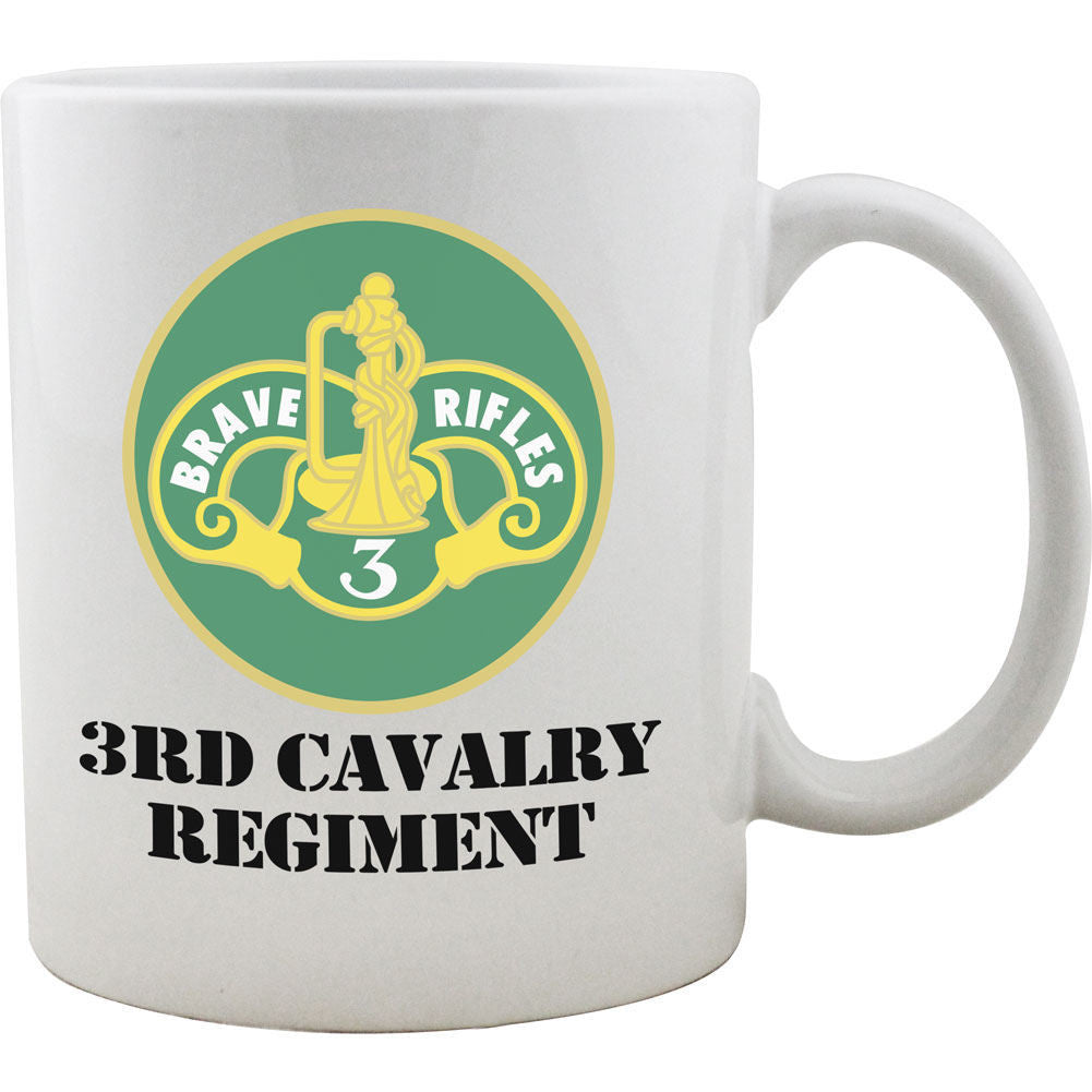 3rd Cavalry Regiment Mug