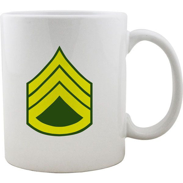 Army Rank Mugs - Enlisted