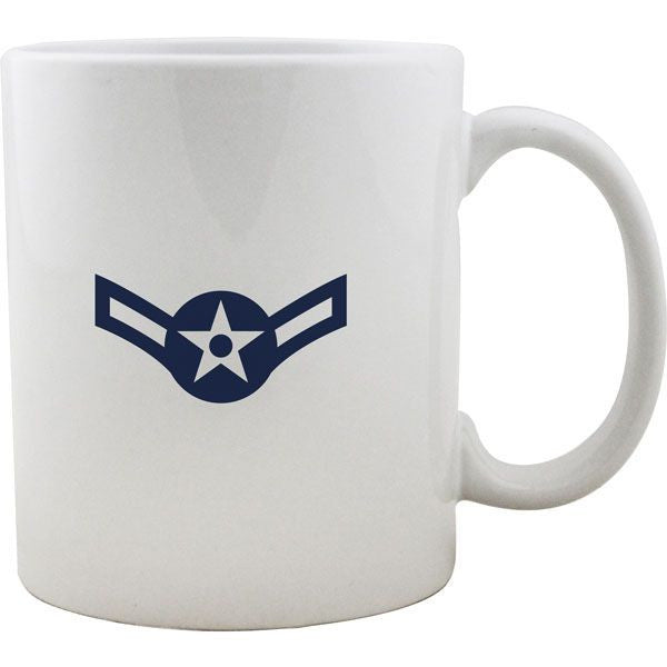 Air Force Rank Mugs - Enlisted