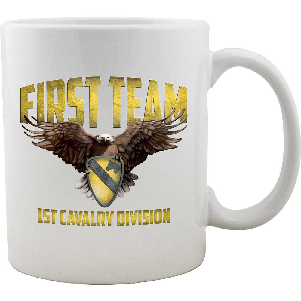 1st Cavalry Division First Team Mug