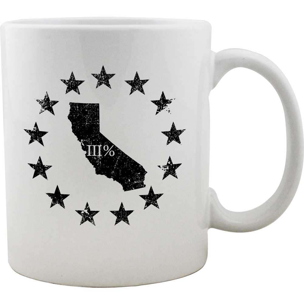 Original California State III Percenter Mug