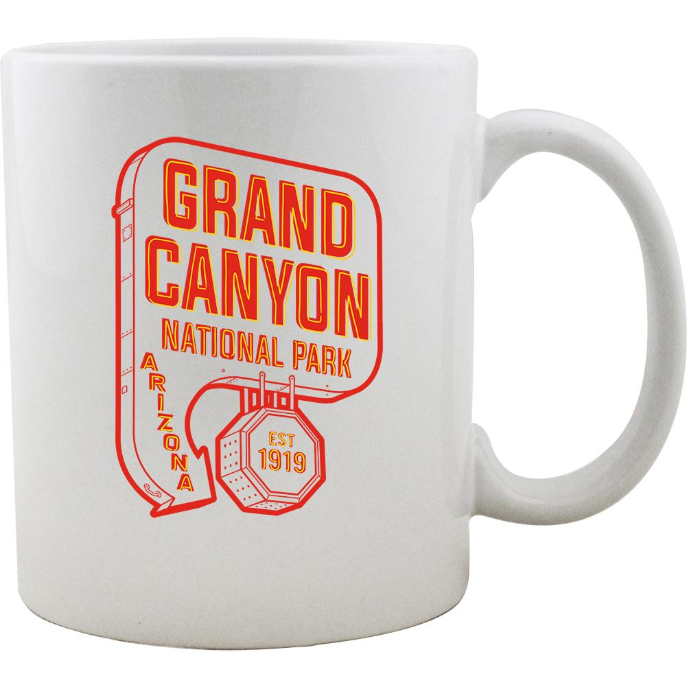 Grand Canyon Vintage Neon Sign Mug
