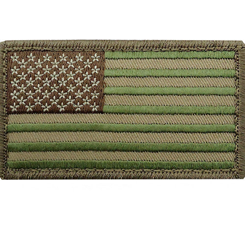 MultiCam U.S. Flag Patch - Forward