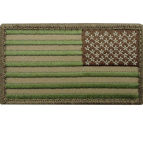 MultiCam U.S. Flag Patch - Reverse