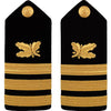 Navy Hard Shoulder Board - Commander Supply Corps