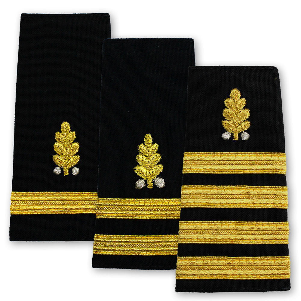 Navy Soft Shoulder Marks - Dental Corps