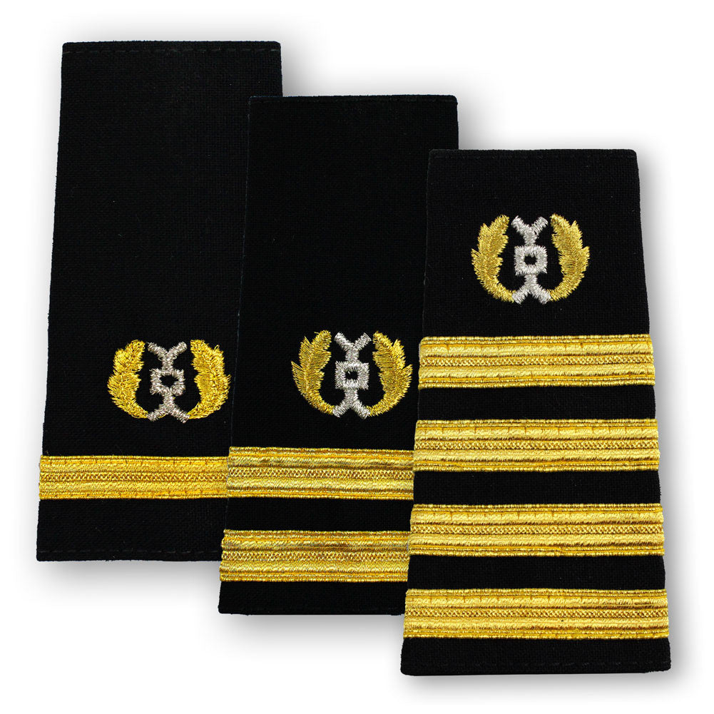 Navy Soft Shoulder Marks - Judge Advocate