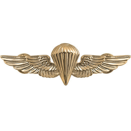 Navy and Marine Corps Parachutist Insignia - Gold
