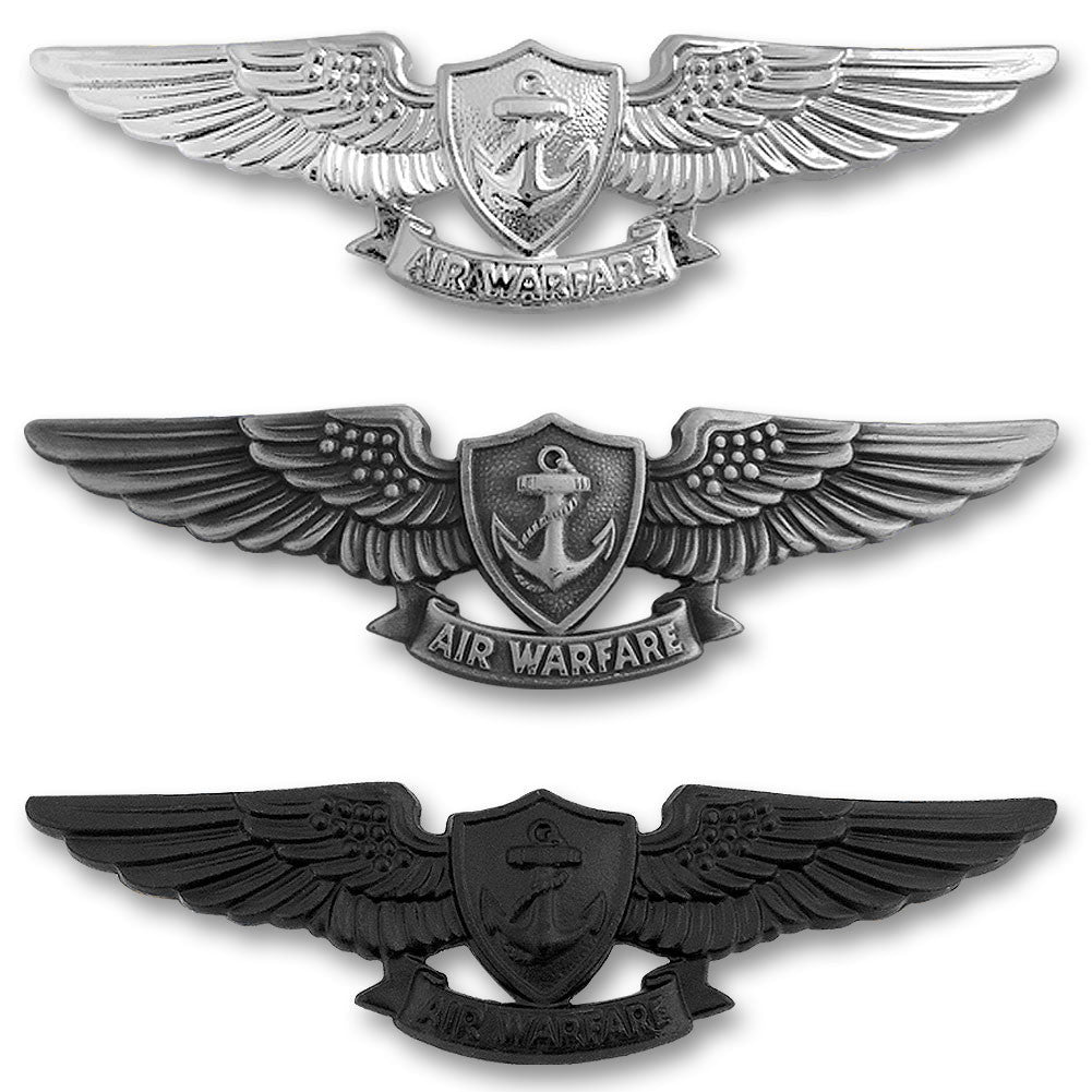 Navy Enlisted Aviation Warfare Specialist Insignias