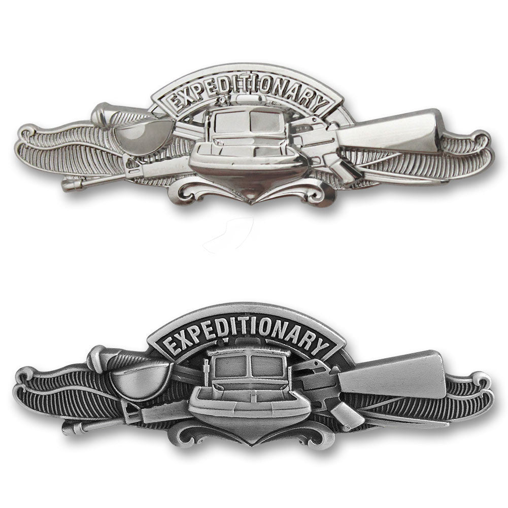 Navy Enlisted Expeditionary Warfare Specialist Insignias