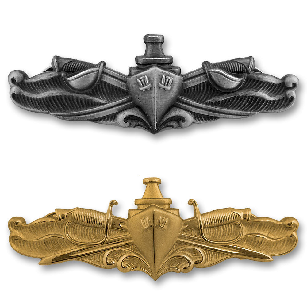 Navy Miniature Surface Warfare Insignias