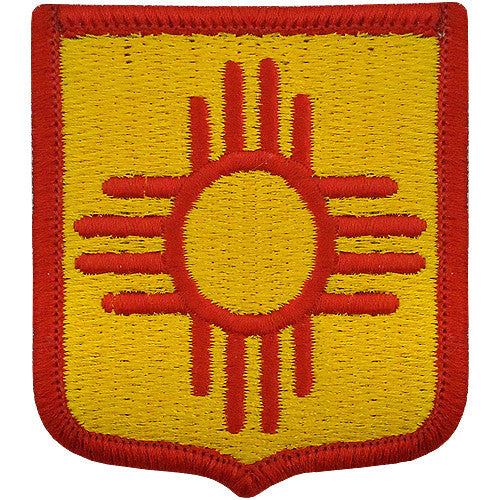 New Mexico National Guard Class A Patch