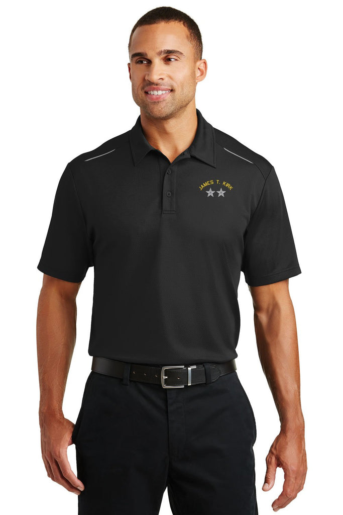 Army General Rank Custom Performance Golf Polo