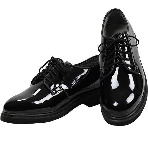 Oxford High Gloss Men's Dress Uniform Shoes