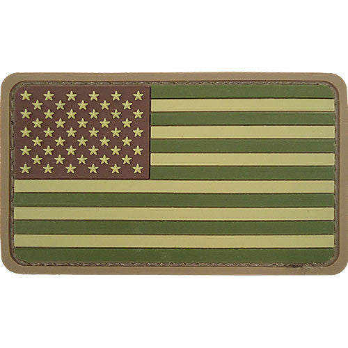 U.S. Flag PVC MultiCam Patch