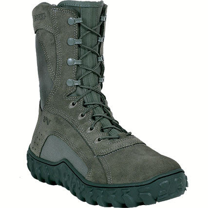 Rocky Sv2 Air Force Sage Green Vented Boots - Men's Size 6 M