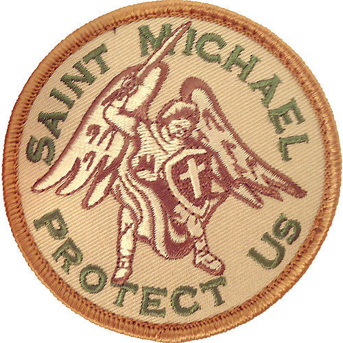 Saint Michael Protect Us MultiCam (OCP) Patch