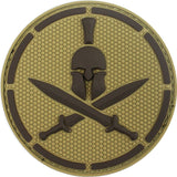 Spartan Helmet PVC Patch - MultiCam