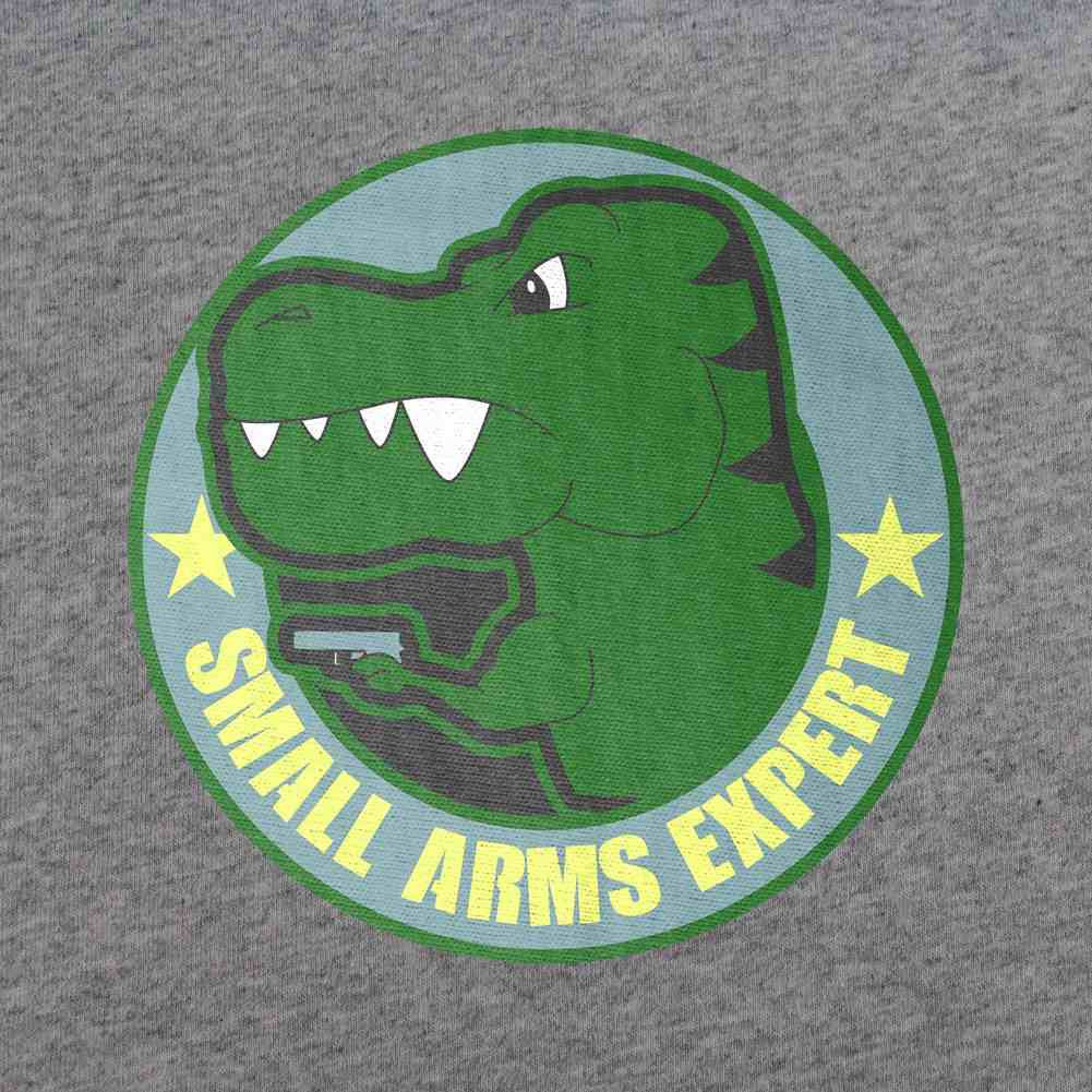 Small Arms Expert T-Shirt - MultiCam - Sm - Heather Grey