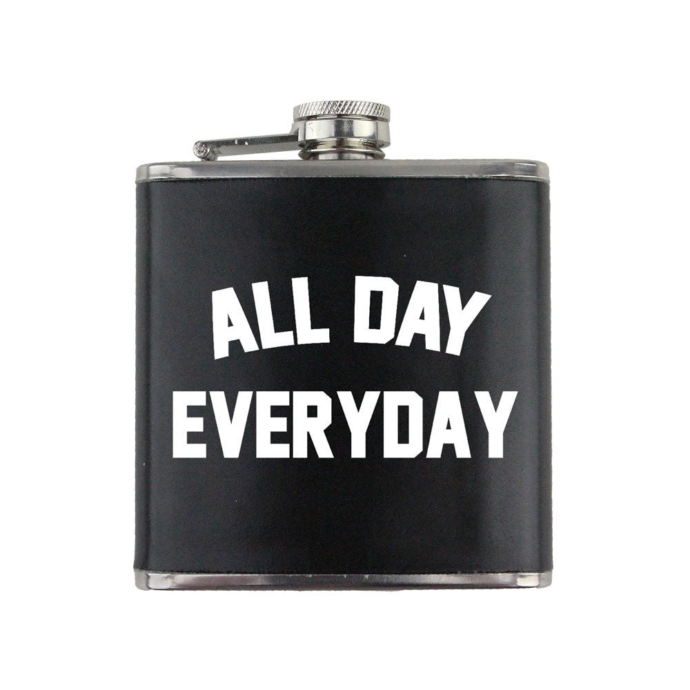 All Day Everyday 6 oz. Flask with Wrap