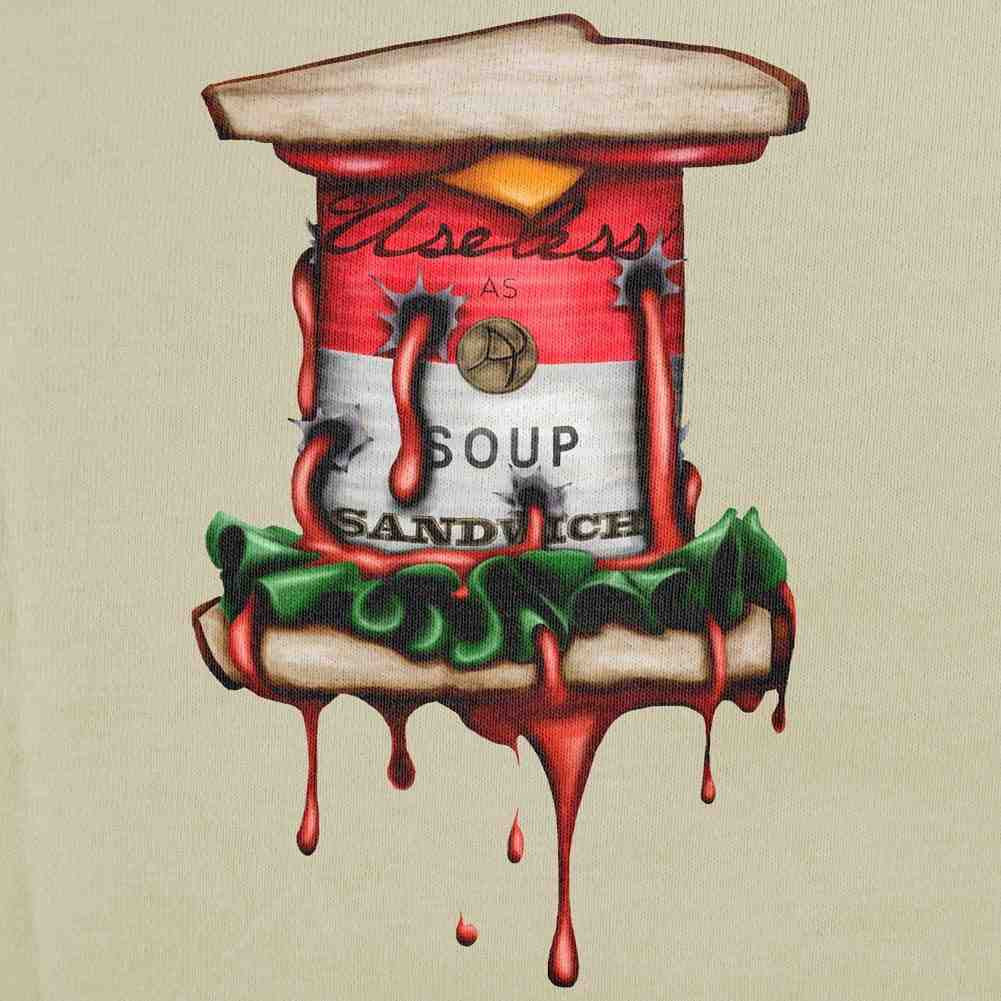 Soup Sandwich Can Variant T-shirt - Swatch