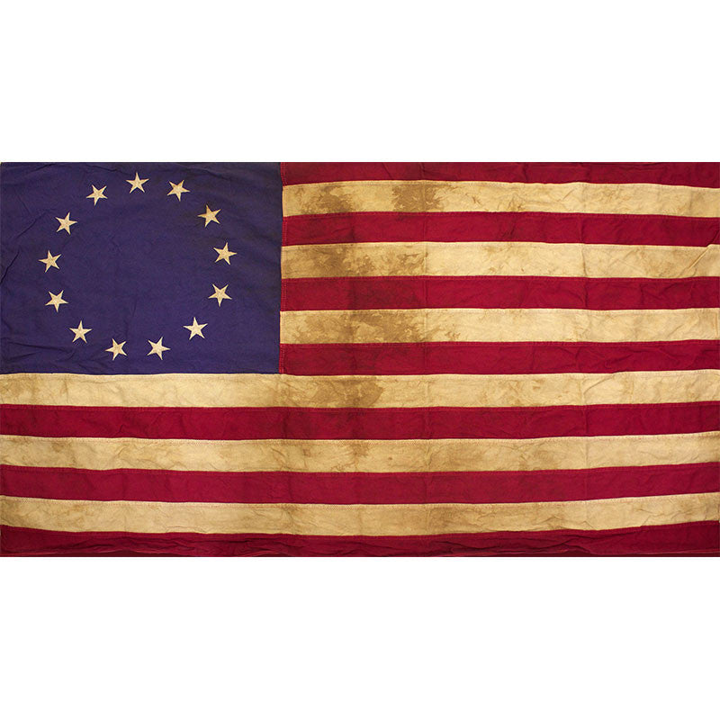 United States Heritage 3' x 5' Cotton 13-Star Flag