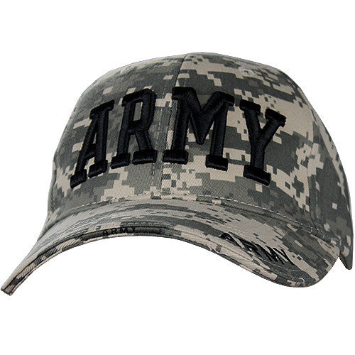 ACU Digital Army Adjustable-Size Low-Profile Cap