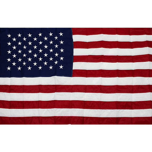 United States Best Cotton 5' x 9 1/2' Flag with Sewn Stripes & Embroidered Stars
