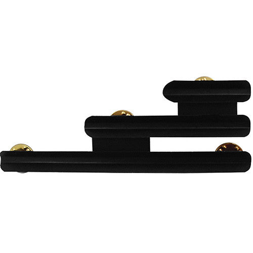 Staggered-Right 1/8-Inch Spaced 6 Ribbon Mount