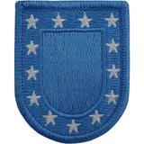 Standard U.S. Army Blue Beret Flash