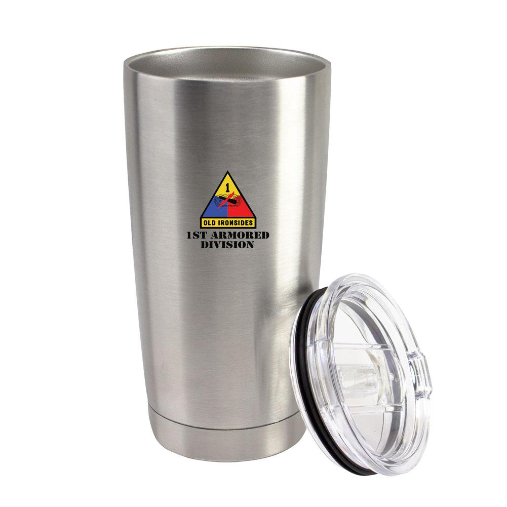Full Color Military Unit Stainless Steel 20oz Thermal Tumblers