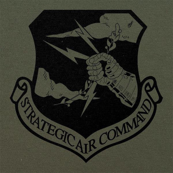 Strategic Air Command Air Force Subdued Patch T-Shirt