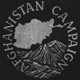 Vintage Style Afghanistan Campaign Medal (White Ink) T-Shirt