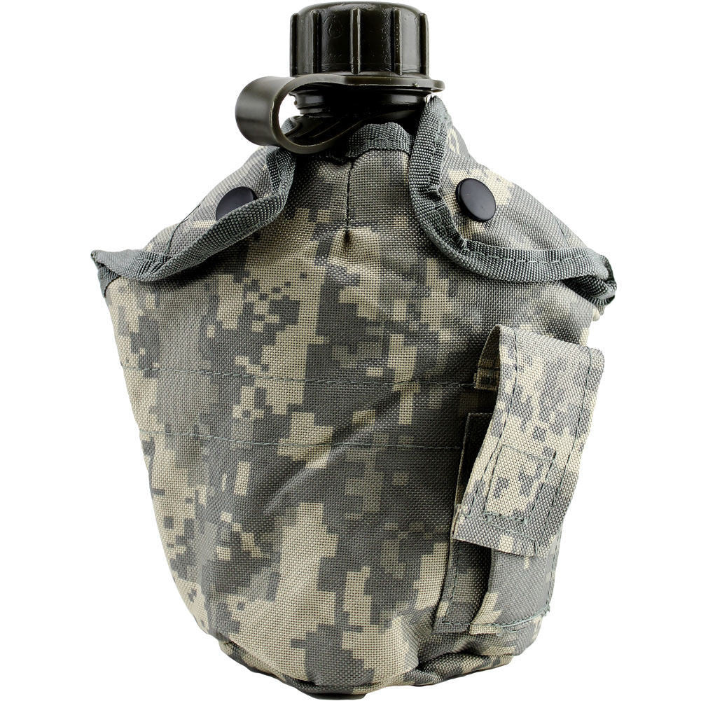 ACU Digital G.I.-Style Canteen Cover - Front